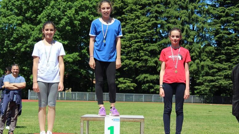 Scuola media giornata sportiva premiazioni