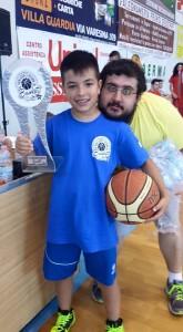 il presidente Paolo Gini, GSV basket