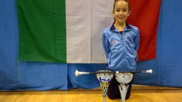 Ilaria Ruggeri, majorette campione d'Italia