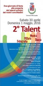 locandina talent