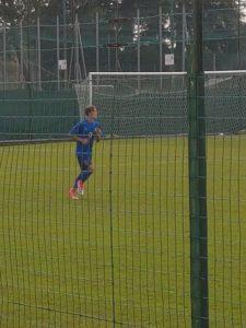 Andrea Benedetti, nazionale Under 15 di Villa Guardia