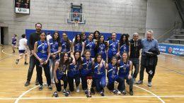Under 15 GSV basket femminile