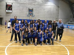 Under 15 GSV basket femminile