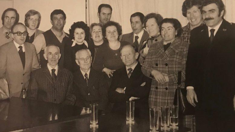 Tino Bianchi ex sindaco Villa Guardia